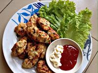 Resepi Cucur ayam homemade tanpa tepung