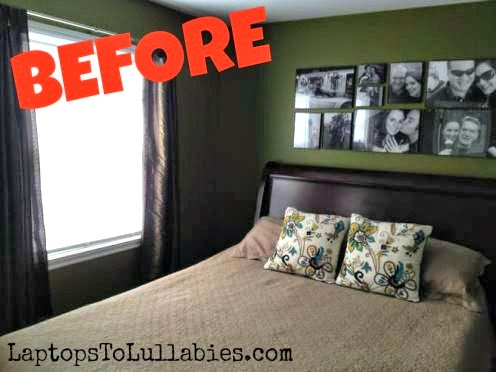 laptops to lullabies our master bedroom makeover week 1