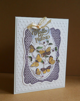 Our Daily Bread Designs, Butterfly branch, Sentiments collection 3