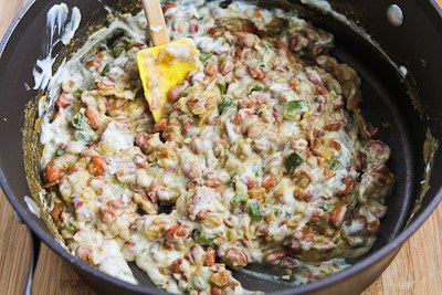 ... ®: Vegetarian Green Chile and Pinto Bean Layered Mexican Casserole