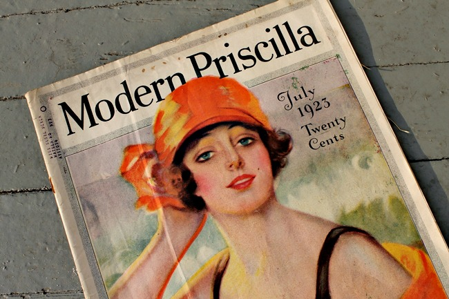 The Modern Priscilla 1920s womens magazine July 1923