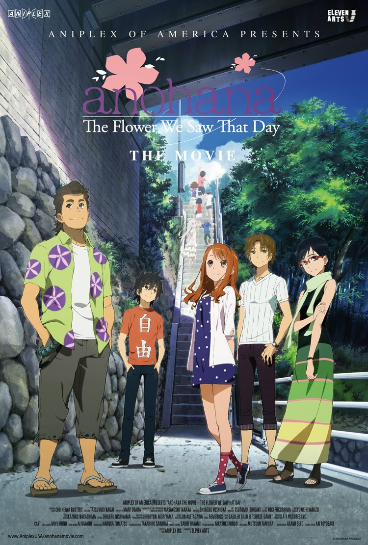 Anohana The Movie Flower We Saw That Day 2013