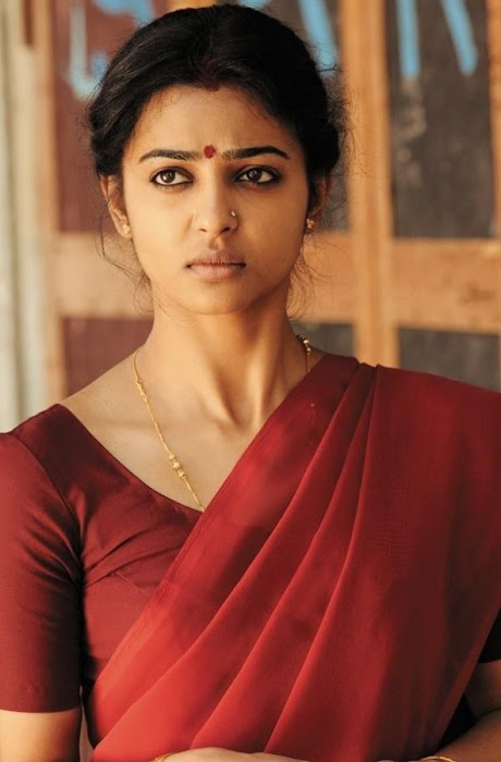 radhika apte in saree - raktha charithra movie hot images
