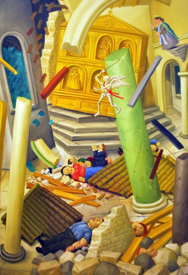 Botero: La muerte de la Catedral (Bojaya)