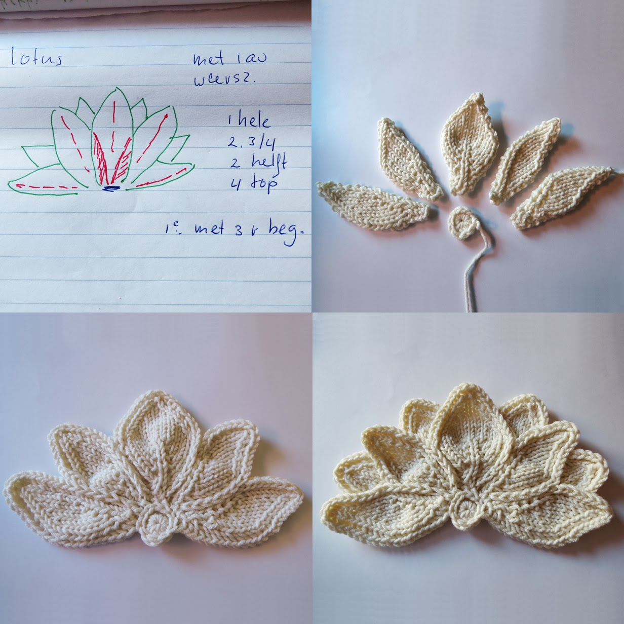 Crochet Lotus Flower Pattern Dancox For