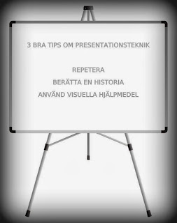 Presentationsteknik tips