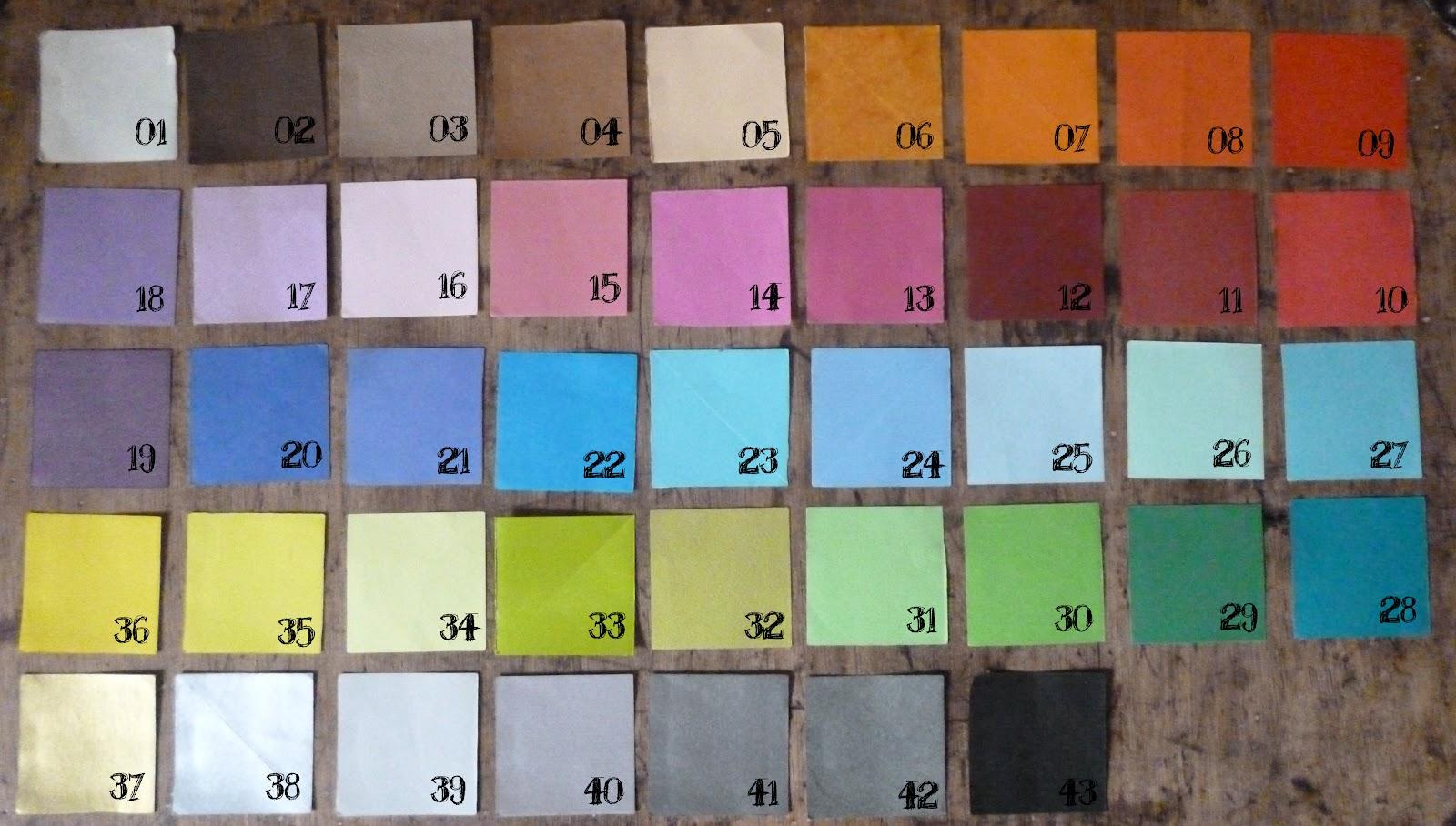 Paleta de colores cosillas de pilu - Paleta de colores titanlux ...
