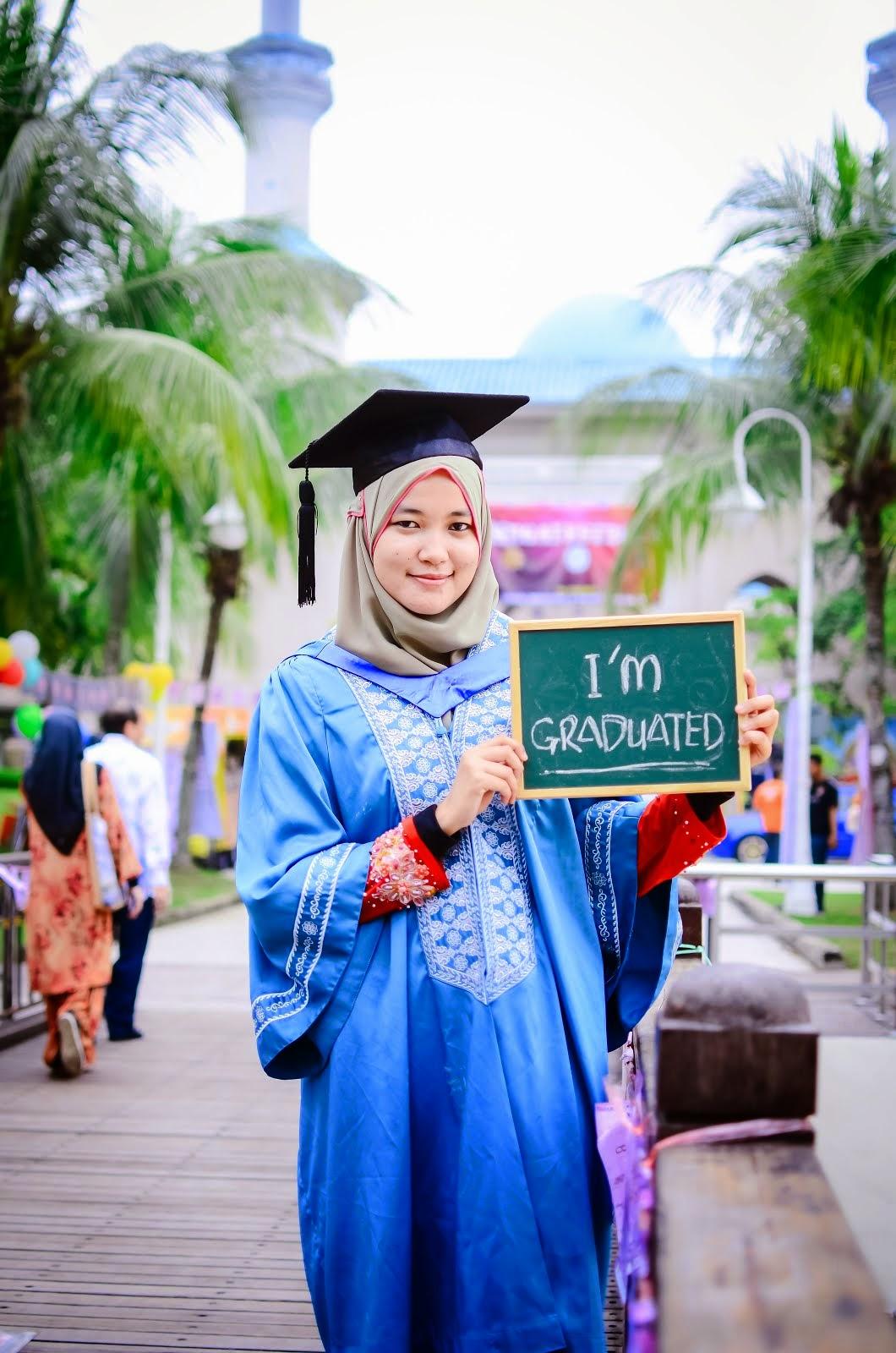 i'm graduated