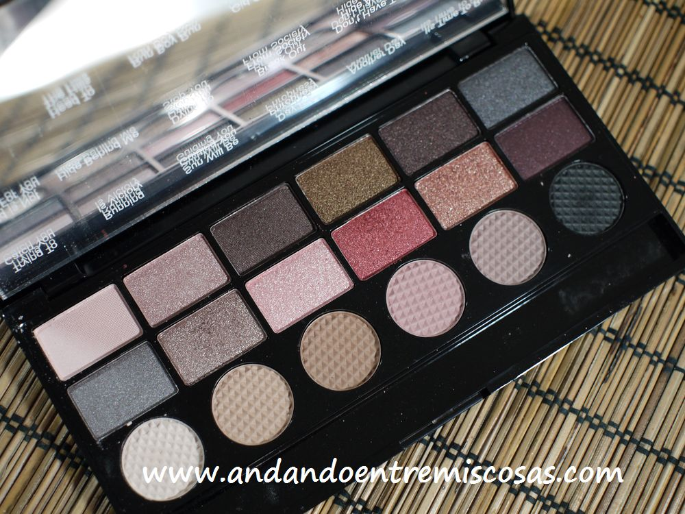 Paleta Run Boy Run de Makeup Revolution