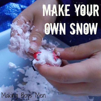 Make your own snow this summer with frozen shaving cream