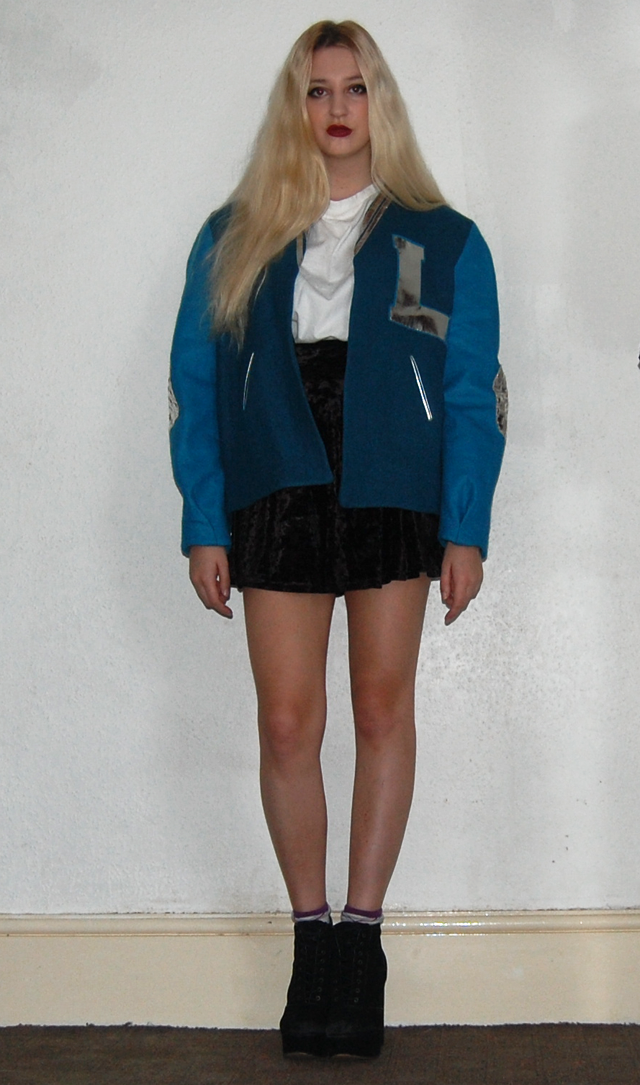 varsity jacket london designer