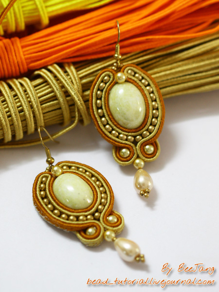 Beautiful soutache earrings tutorials to get you started