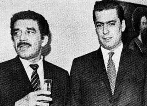 Gabriel Garca Mrquez con Mario Vargas Llosa