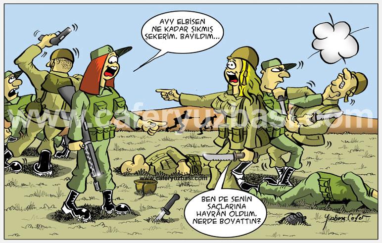 kilik kiyafet önemli tabi-Kadinlar Asker Olursa?