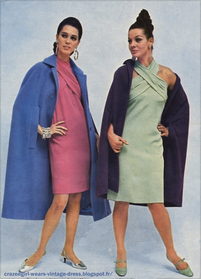 blue purple  cape 1966  60s 1960