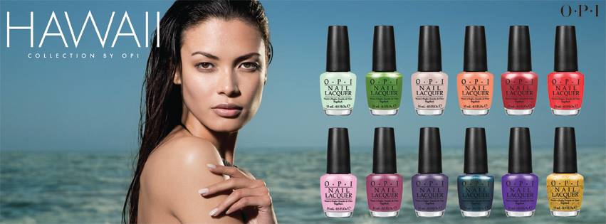 OPI Hawaii Spring/Summer 2015 Collection - with swatches!