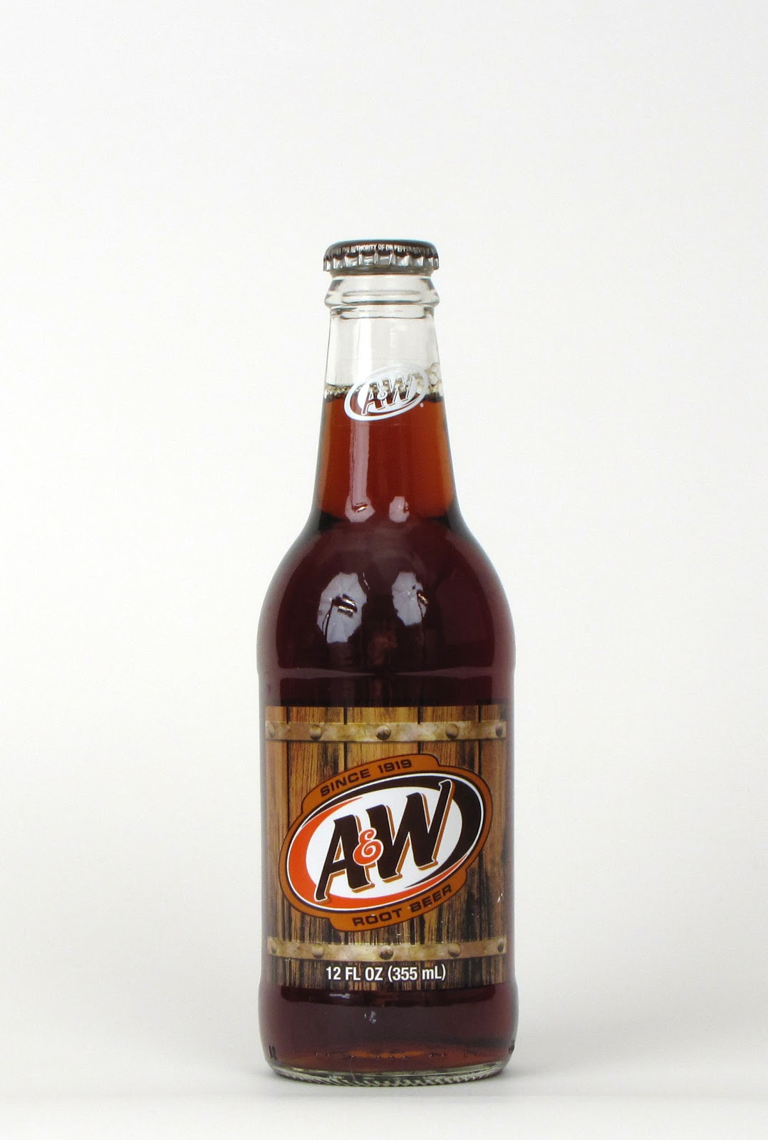 A W Glass Bottled Root Beer