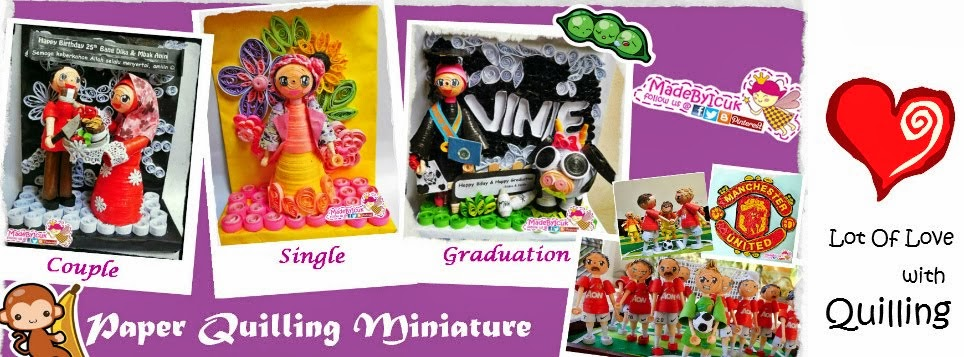 MadeByIcuk  Paper Quilling Gift