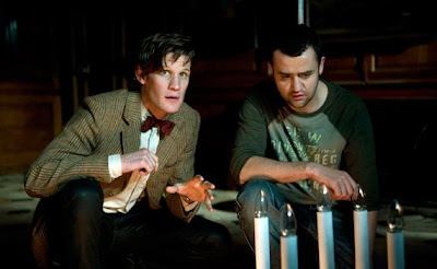 Dr Who, Night Terrors, Daniel Mays and Matt Smith