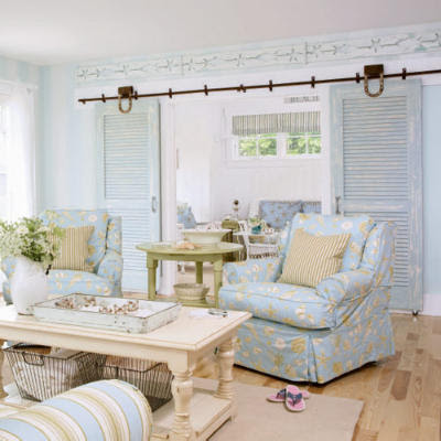 design serendipity: Maine Cottage