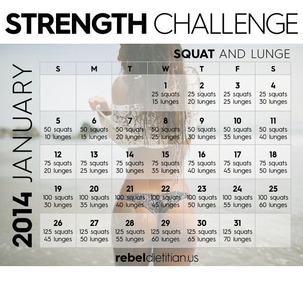 Feb 17 2015 Rebel Fitness Squamish: The Yve-olution Of Me: 30 Day Plank & Squat/Lunge