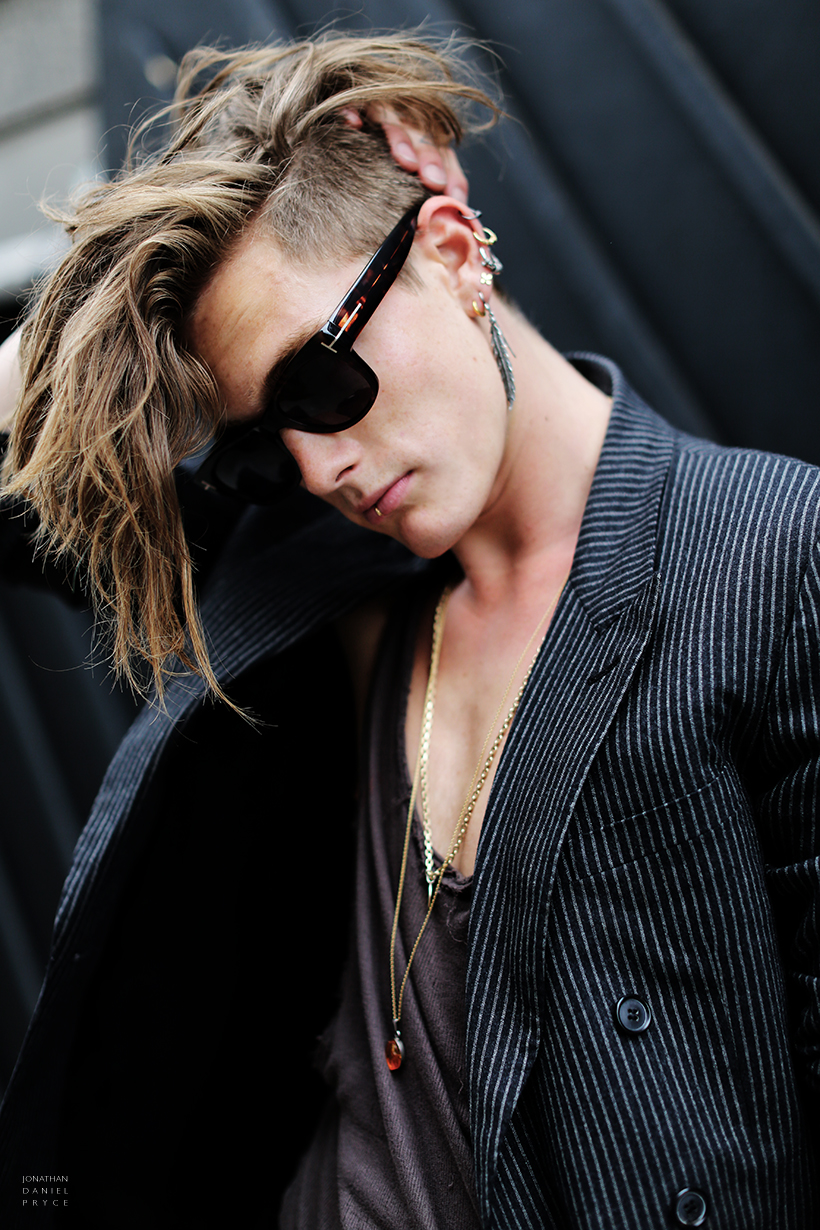 Garconjon Sophus Ritto New Oxford Street London - Undercut hairstyle london