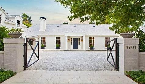 Gwyneth Paltrow & Chris Martin's estate in Los Angeles, CA