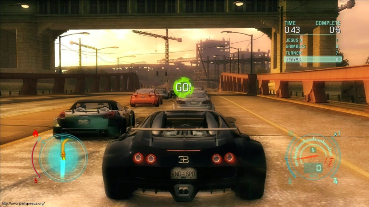 Download NFS : Undercover For PC Full Version