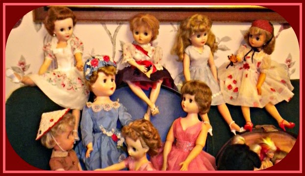 fashion dolls 1950 - 1960