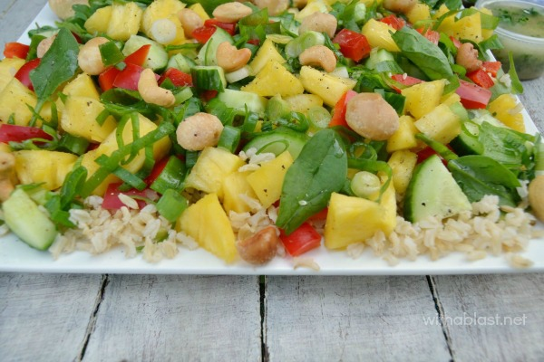 Chicken and Pineapple Rice Salad