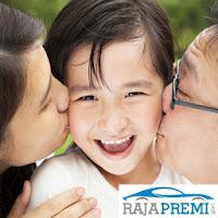Anak dan keluarga akan aman dengan pelrindungan asuransi yang murah dan klaim mudah