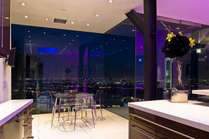 ultra modern home design ideas with modern led