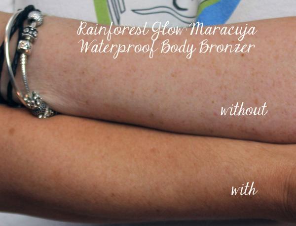 Rainforest Glow Maracuja Waterproof Body Bronzer
