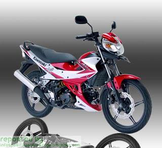 Harga Kawasaki Athlete Motor Terbaru 2012