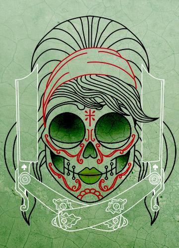 tatouage de crane mexicain - Tatouages De Crâne Mexicains sur Pinterest