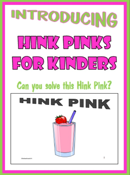 Related Keywords Suggestions for hink pink – Hink Pink Worksheets