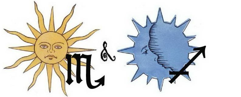 scorpio moon vs sun