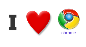i love chrome 6 Reasons Why People Love Google Chrome