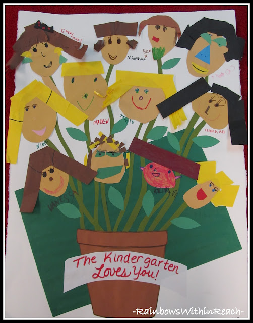 photo of: Kindergarten Garden of Artwork loves their glorious Kinder Teacher