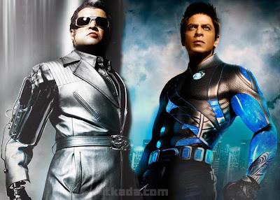 RaOne Rajini  SRK