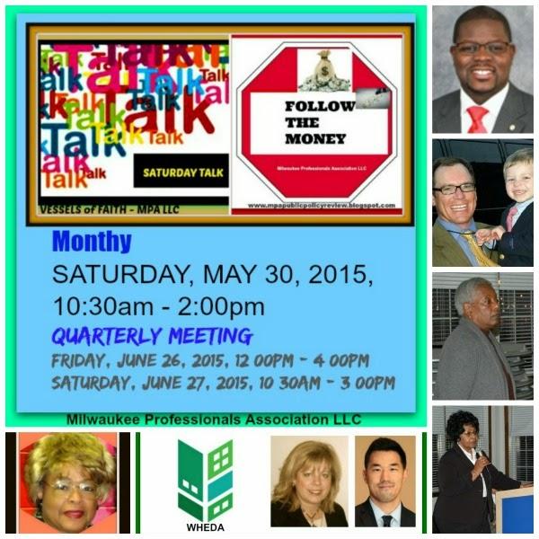 R.S.V.P - SATURDAY TALK - MAY 30, 2015