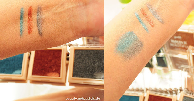 Swatches p2 Eyeshadow