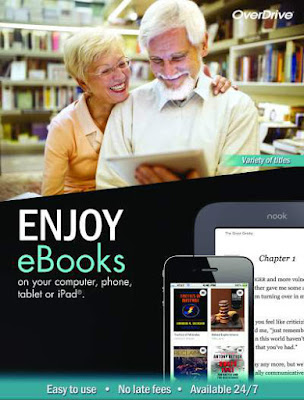 Learn to Download Free Books to Your eReader or Tablet Using Overdrive 1-4-16