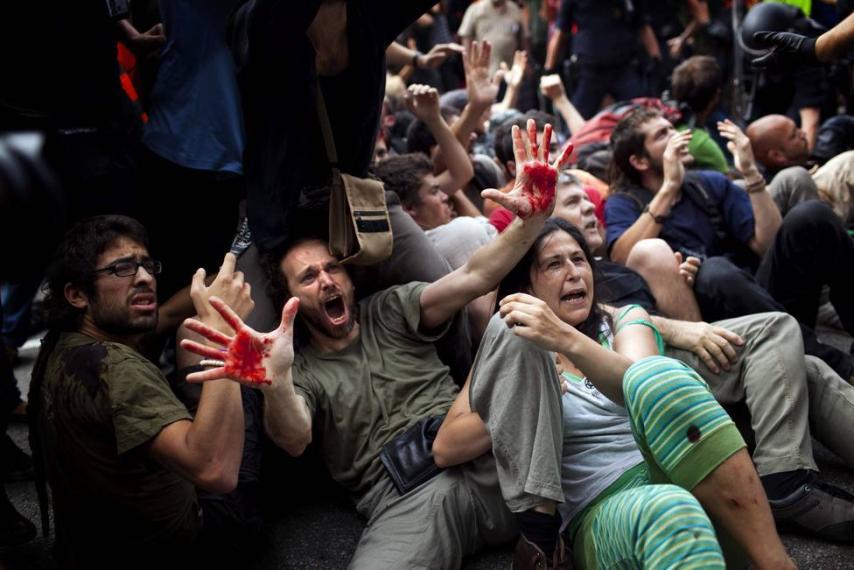 Los indignados quieren venir a Madrid