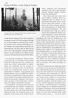 Richard Müller: Artikel Kunstbulletin Annelise Zwez