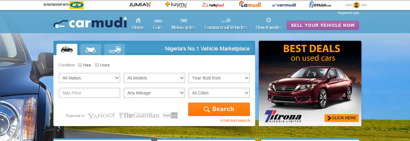buy cheap or sell used cars tokunbo cars nigeria used cars