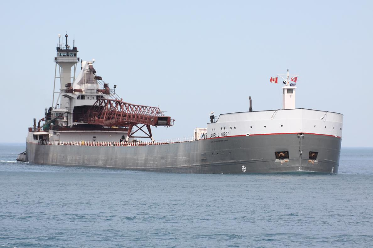 freighter victory l James kuber