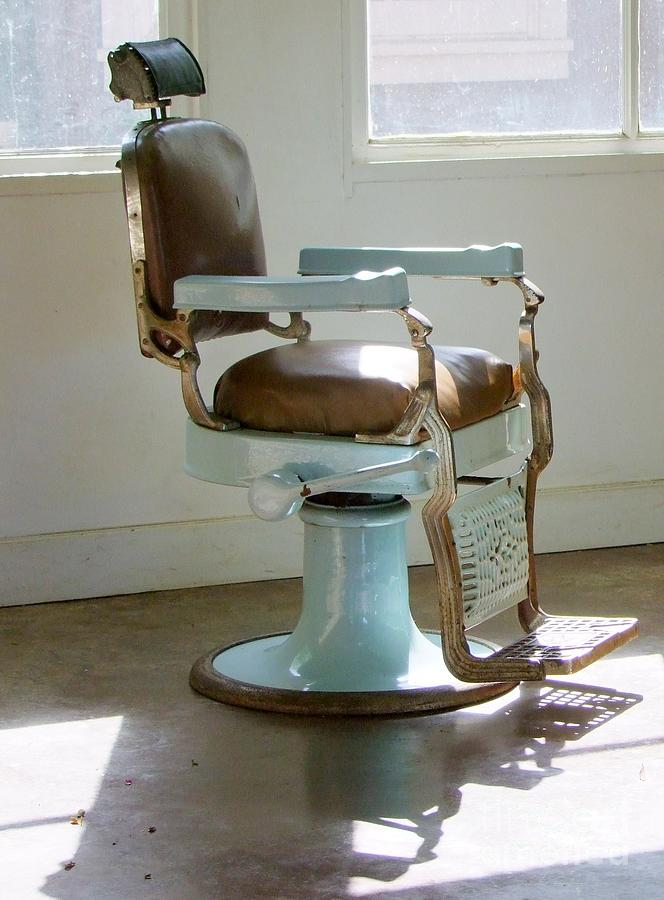 Antique Barber Chair7. Antique Barber Chair - Barber Girl Photos: Antique Barber Chair