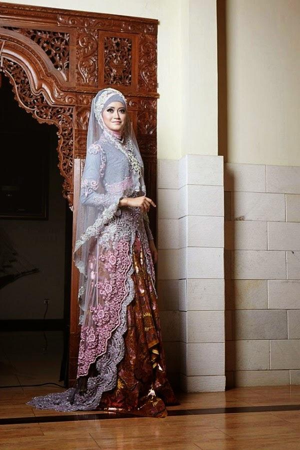 foto baju pengantin muslimah terbaru