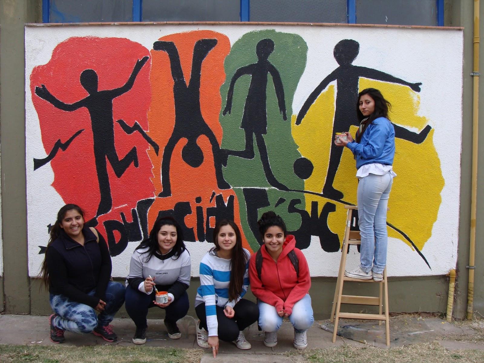 Colegio secundario educadores pampeanos proyecto for El mural de mosaicos